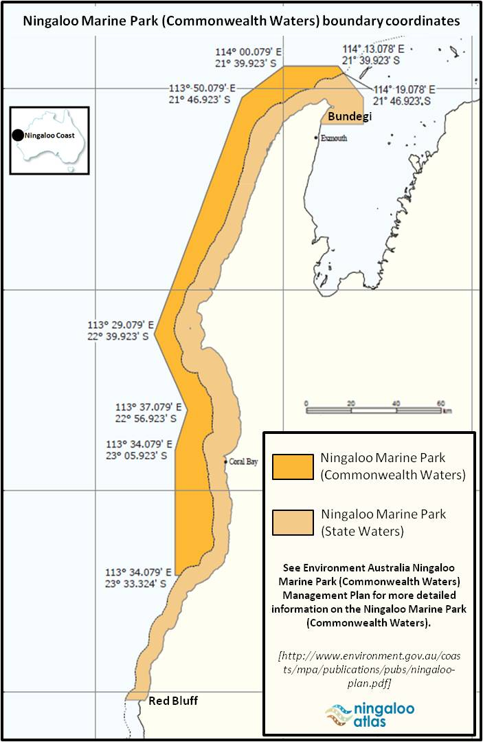 Ningall Marine Park State and Commonwealth Waters